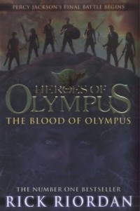 Omslagsbild: The blood of Olympus av