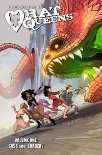 Omslagsbild: Rat Queens av