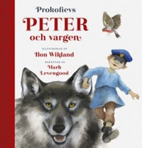 Book cover: Peter och vargen av