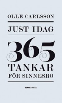 Book cover: Just idag av