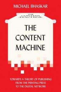 Omslagsbild: The content machine av