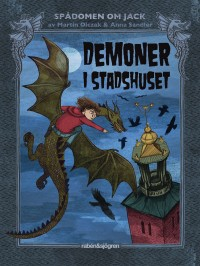 Book cover: Demoner i stadshuset av