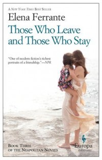 Book cover: Those who leave and those who stay av