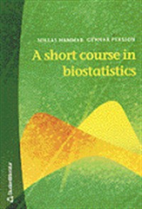 Book cover: A short course in biostatistics av