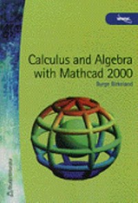 Book cover: Calculus and algebra with Mathcad 2000 av