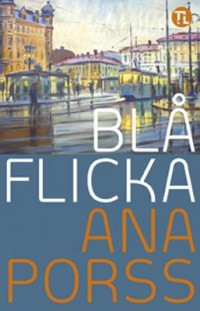 Book cover: Blå flicka av