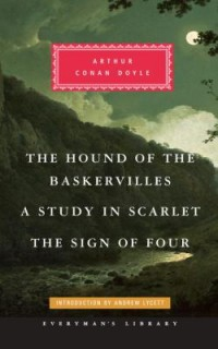 Omslagsbild: A study in scarlet ; The sign of four ; The hound of the Baskervilles av