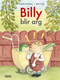 Book cover: Billy blir arg av
