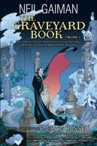 Omslagsbild: The graveyard book av