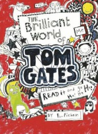 Omslagsbild: The brilliant world of Tom Gates av