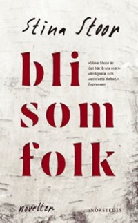 Book cover: Bli som folk av