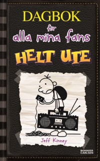 Book cover: Helt ute av