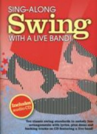 Omslagsbild: Sing-along swing with a live band! av
