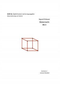Book cover: Matematik av