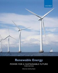 Book cover: Renewable energy by