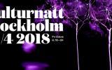Kulturnatt Stockholm lördag 21 april!