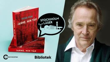 Bokomslag och författarporträtt.