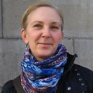 Camilla Larsson, intendent på Strindbergsmuseet