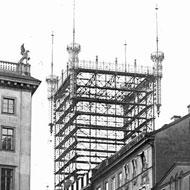 Telefontornet från 1887 på Brunkebergsåsen